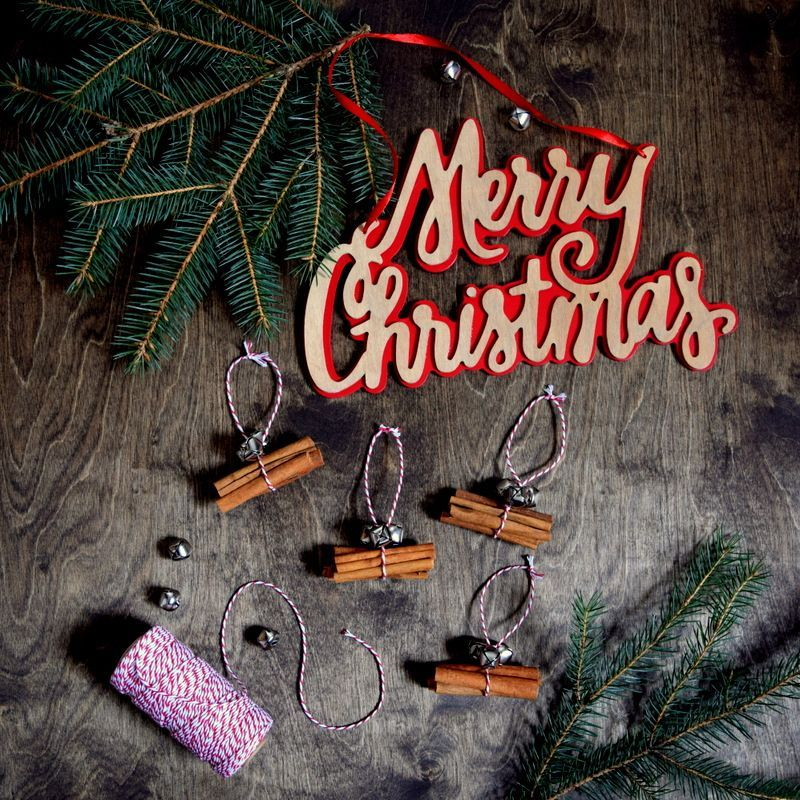cinnamon sticks ornaments