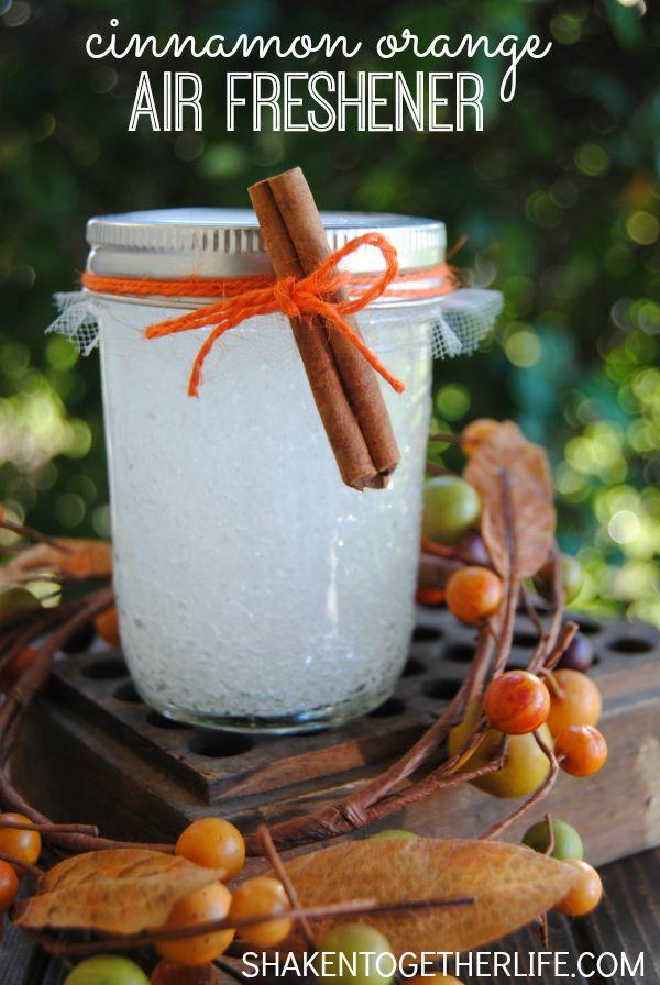 Cinnamon orange air freshener