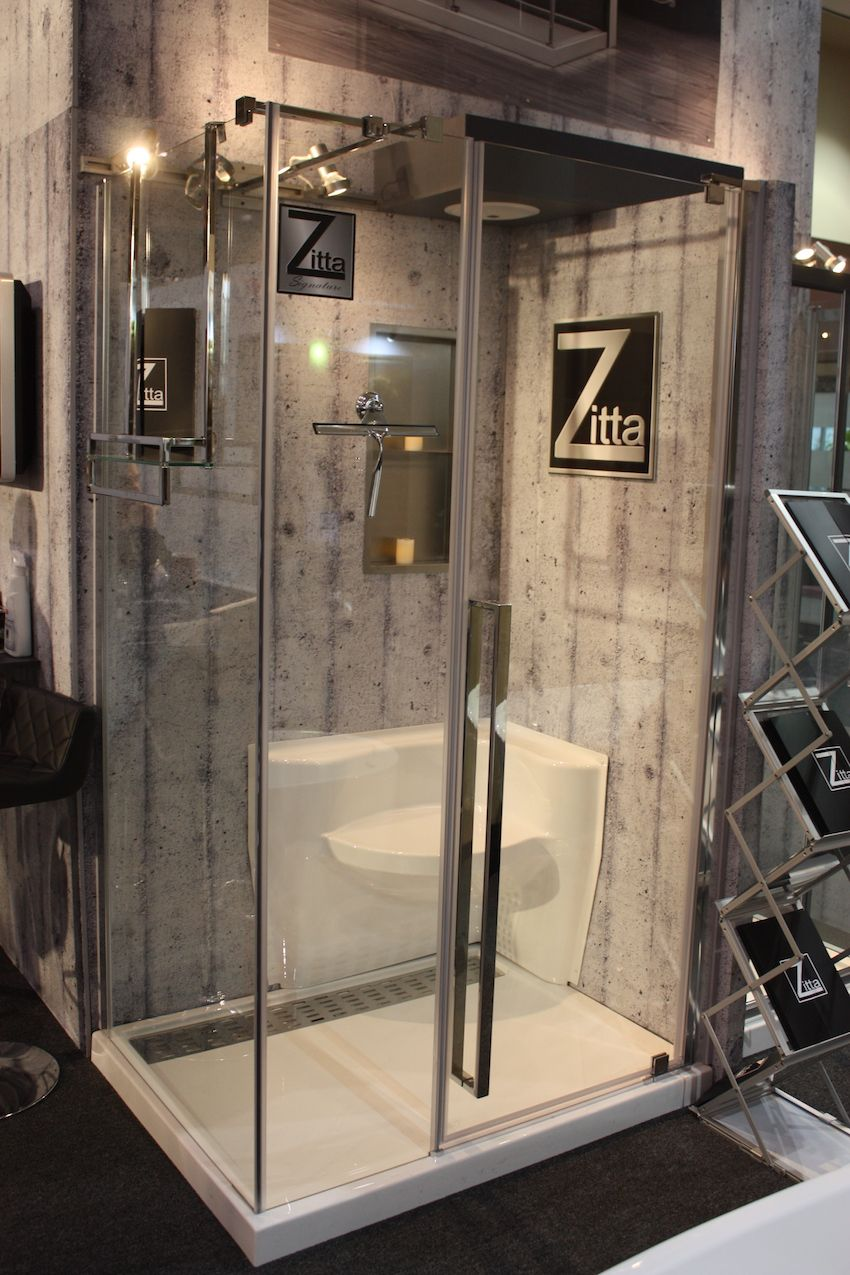 Walk In Showers Great Design Cleans Up Nice