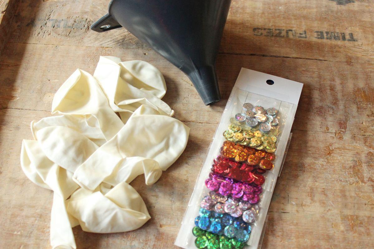 DIY Confetti Balloons Ballons