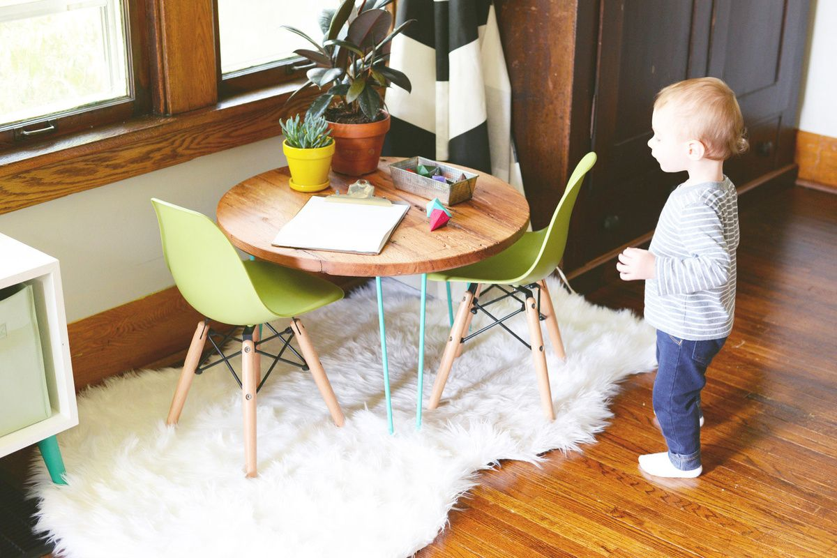 DIY Hairpin Legs Table