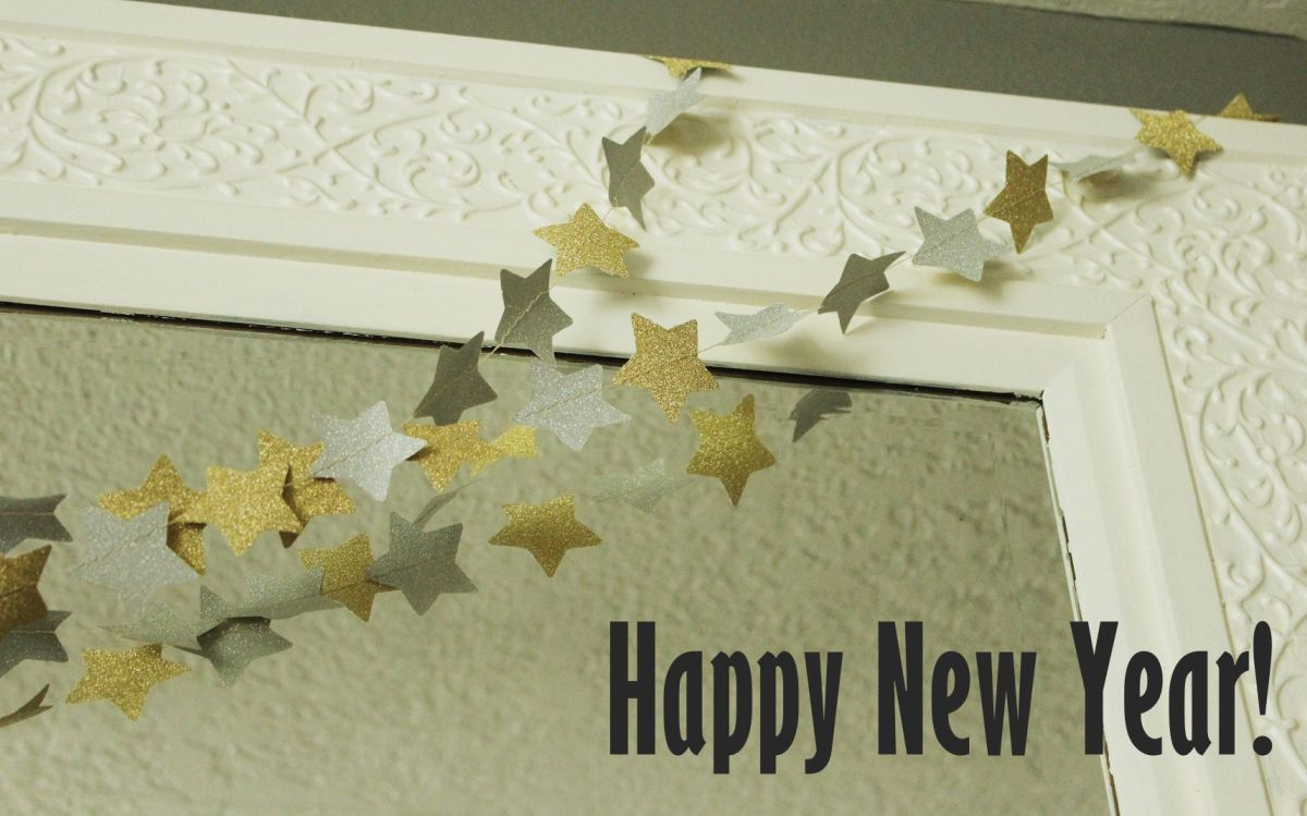 Diy New Year S Eve Decorations Glitter Shimmer And Shine
