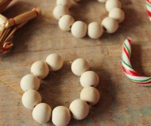 Simple and Modern DIYs: Scandinavian Christmas Tree Ornaments