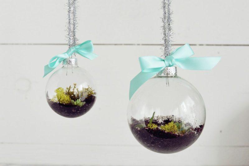 DIY Terrarium Ornaments for Christmas Tree