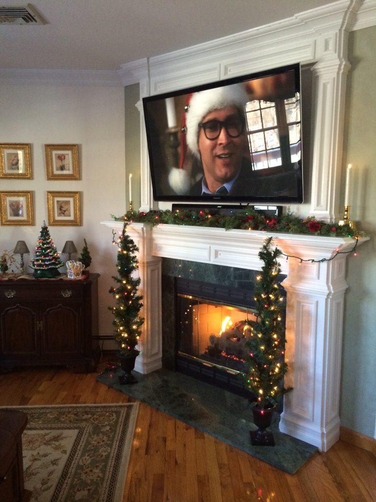 Decorate around the TV
