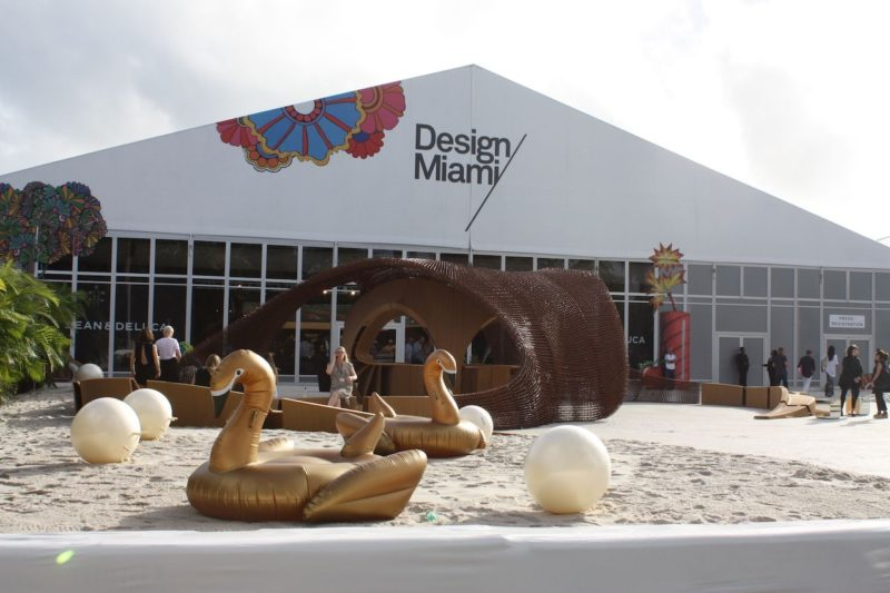 Elegant and Artful Home Designs on Display at Design Miami 2016