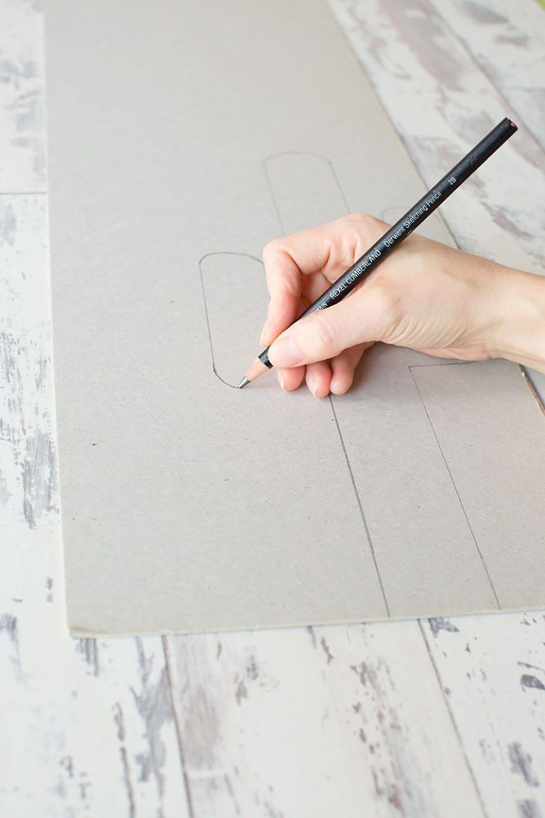 Draw Cardboard Cactus