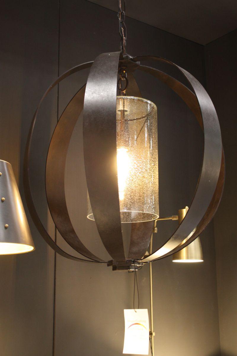 Espresso Industrial Hanging Lamp