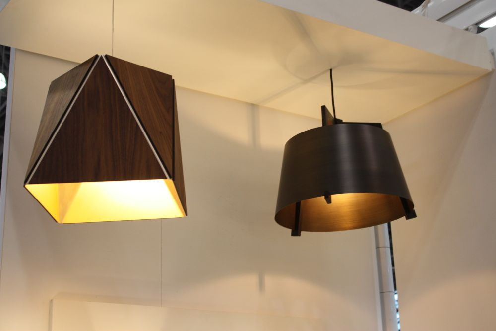 Espresso color hanging lamps