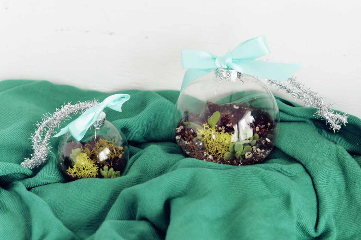 Green DIY Terrarium Ornaments