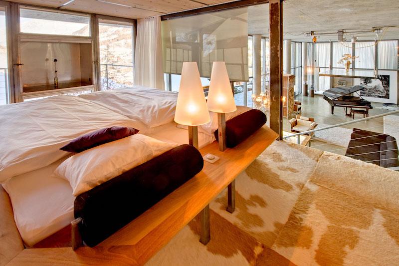 Heinz Julien Loft Schlafzimmerbereich