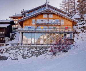 Luxurious Chalet Loft Hidden In The Swiss Alps