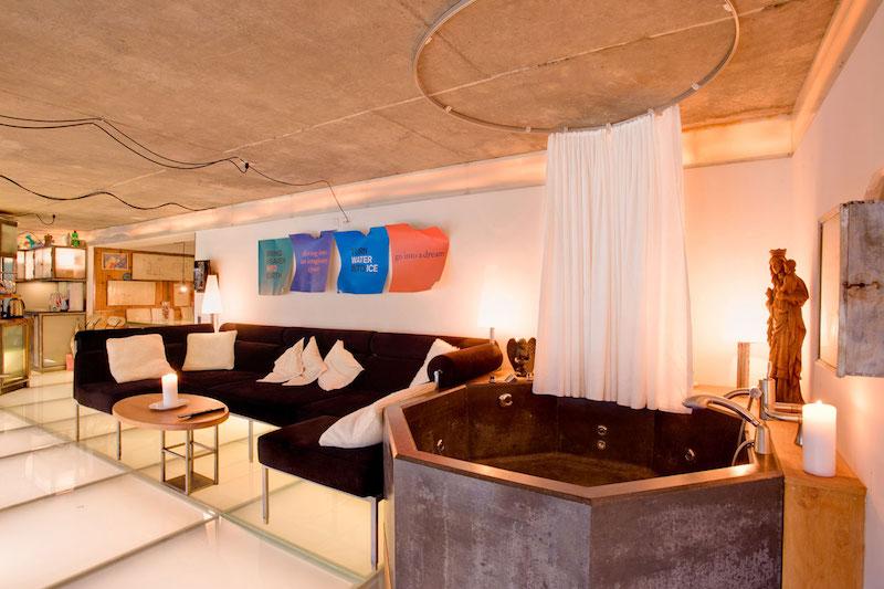 Heinz Julien Loft zweiter Loungebereich
