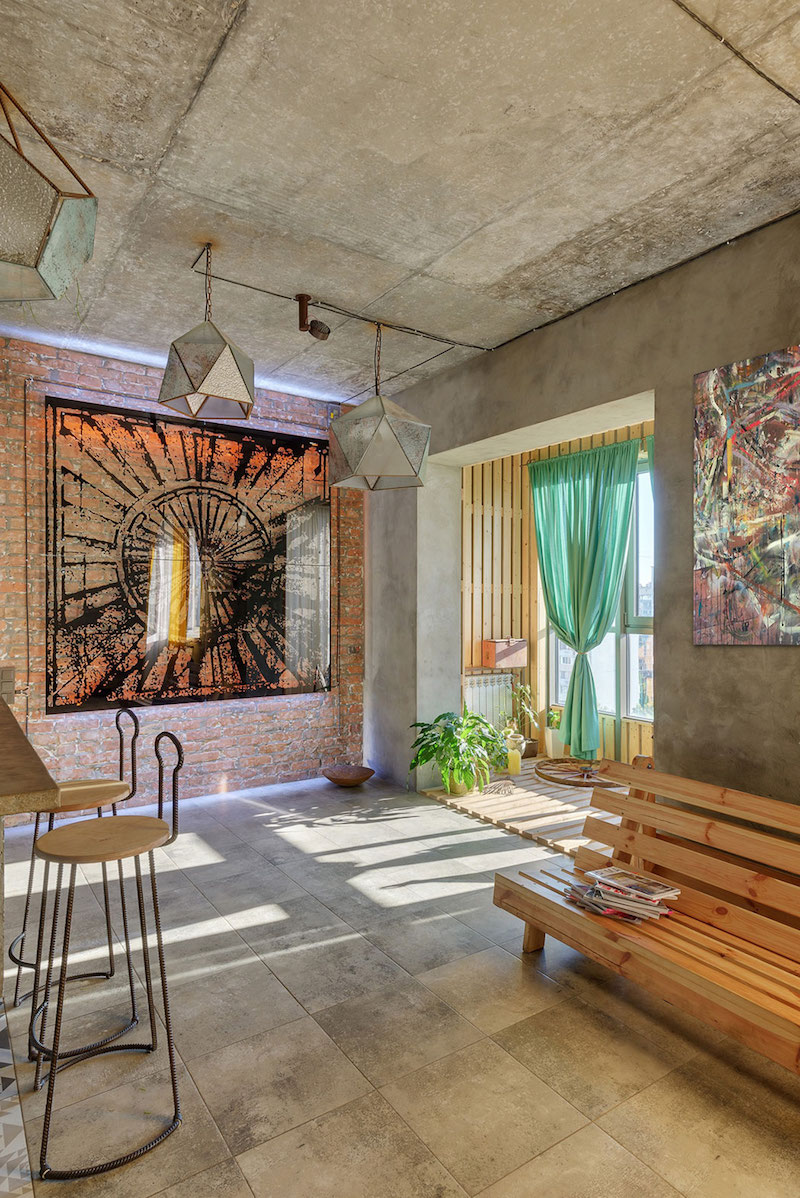 A house inspired by the persian culture dedicated to the sun
