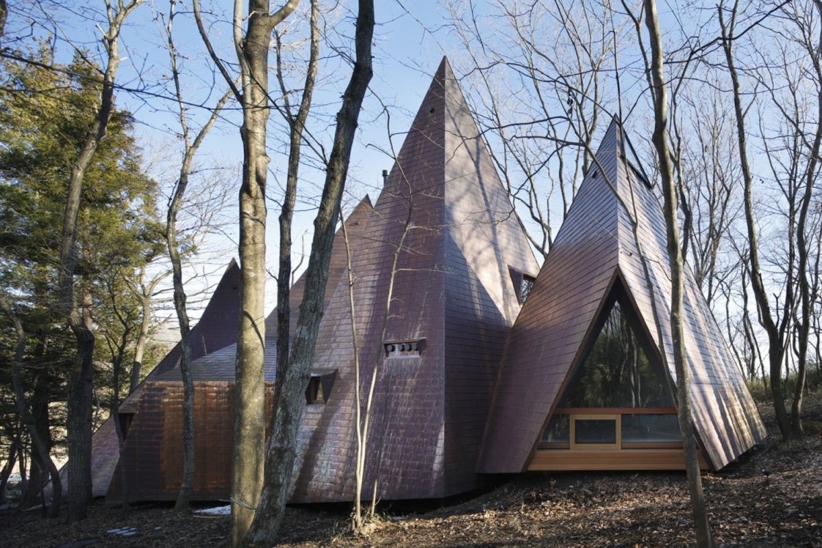 Japanese The Nasu Tepee House Back