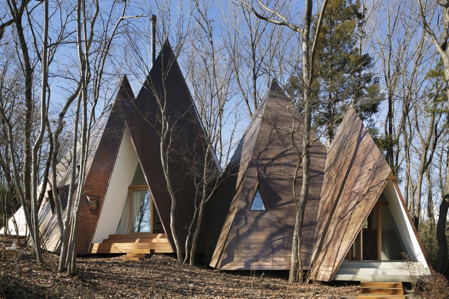 Japanese The Nasu Tepee House