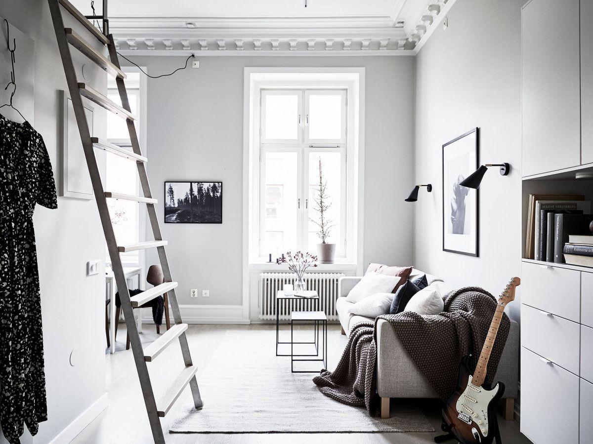 Loft Living Room Decor