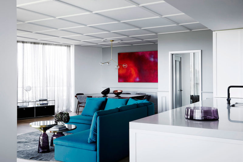 M Residence living room lounge