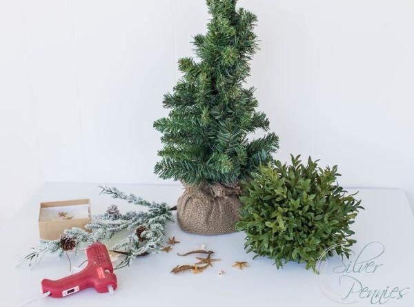 mini coastal christmas tree - Mini Real Christmas Tree
