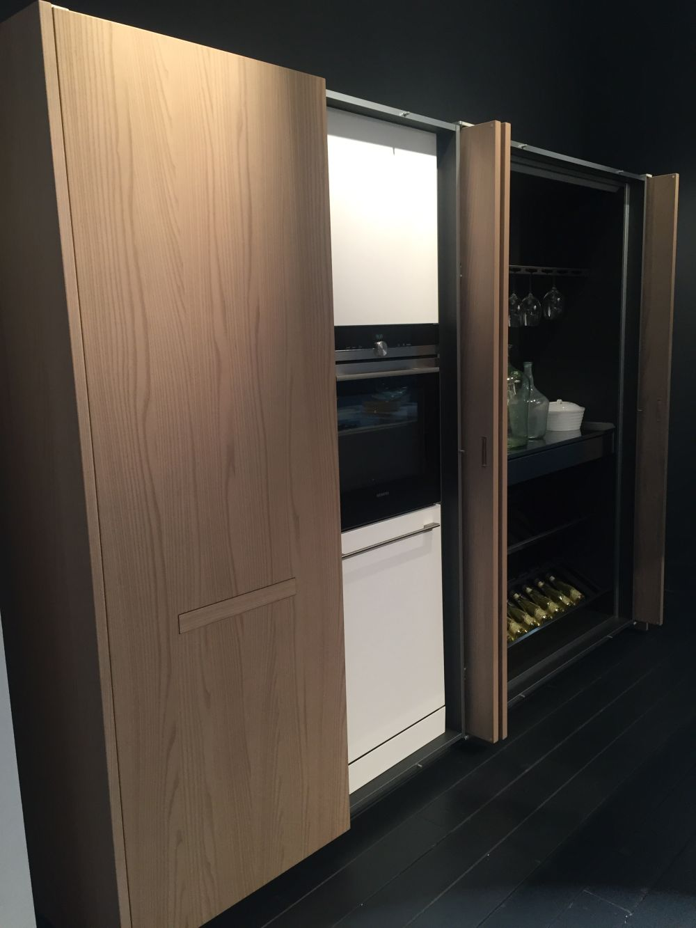 Modern Kitchen Pocket Doors