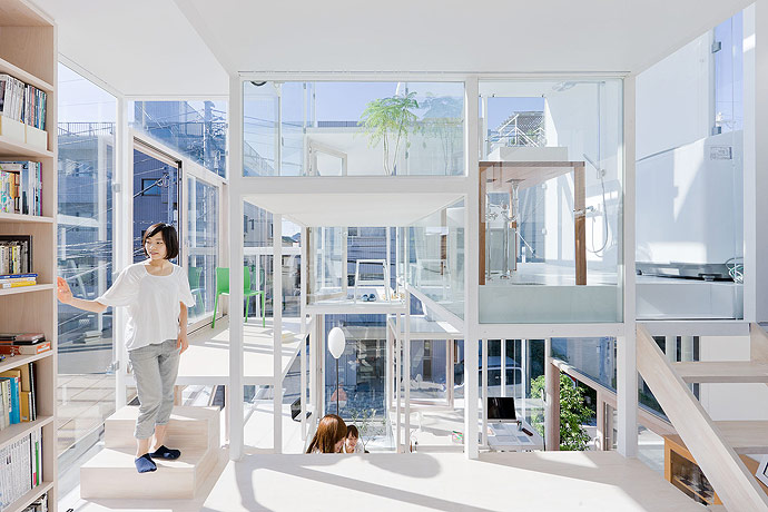 Modern Transparent House Interior