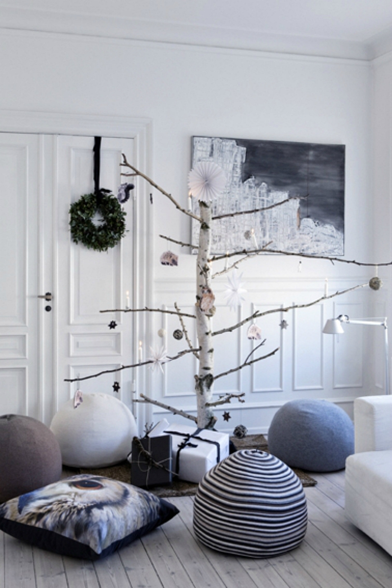 Non pine christmas tree