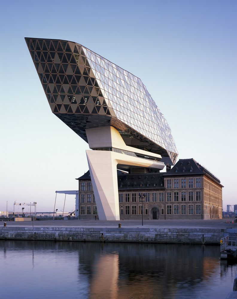 Project from zaha Hadid The Port House in Antwerp