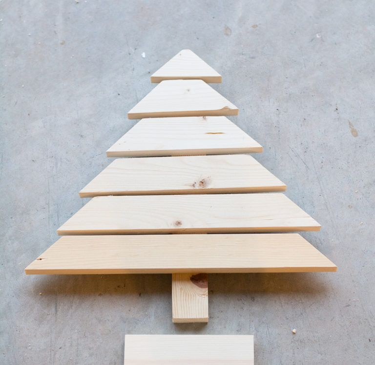 Sand all Wood For Christmas Tree