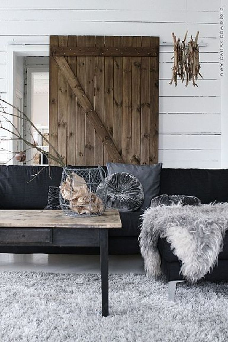 Scandinavian nature decor