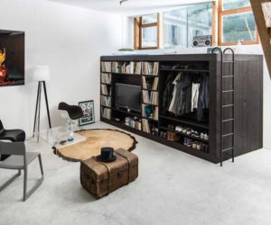 Boxed In – Clever Loft Beds And Space-Efficient Storage Units