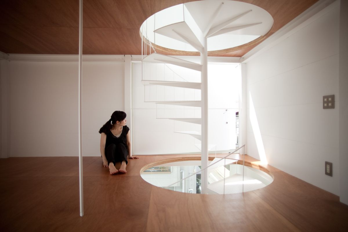 Small tower house in Tokyo Design