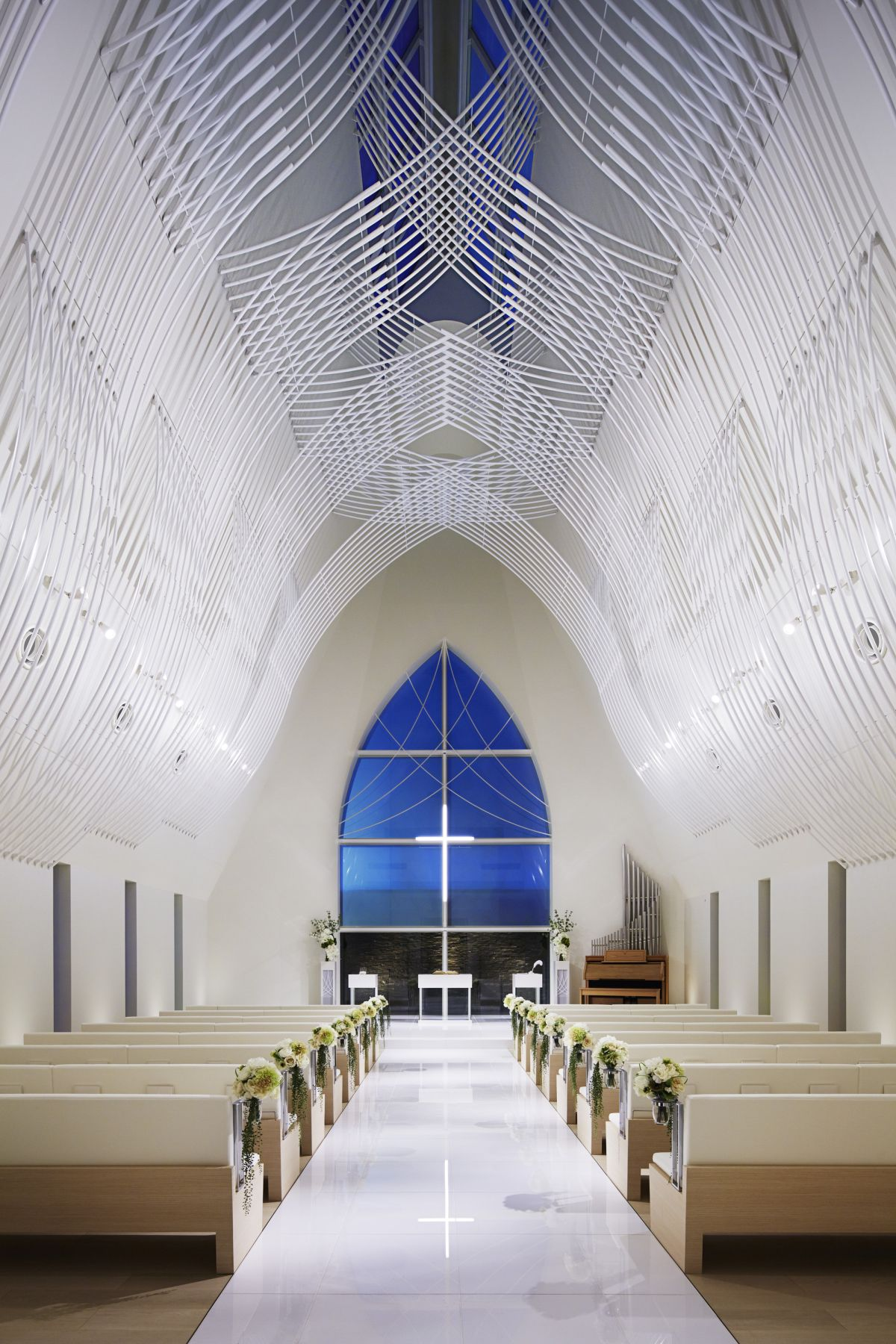 St. Voile Chapel Architecture Interior