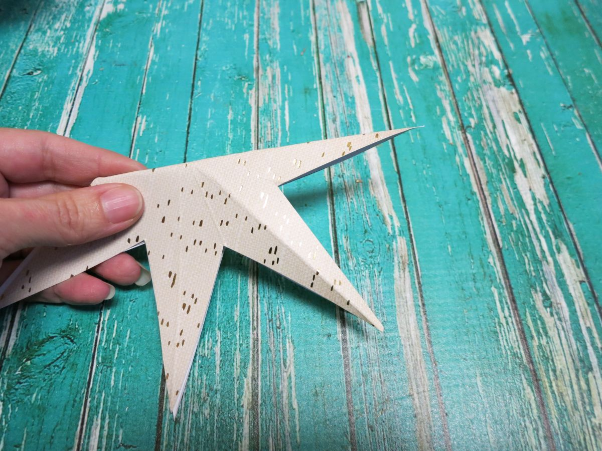 Star ready to be shaped