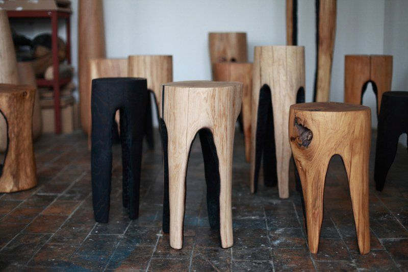 Stool from Belgian designer Kaspar Hamacher