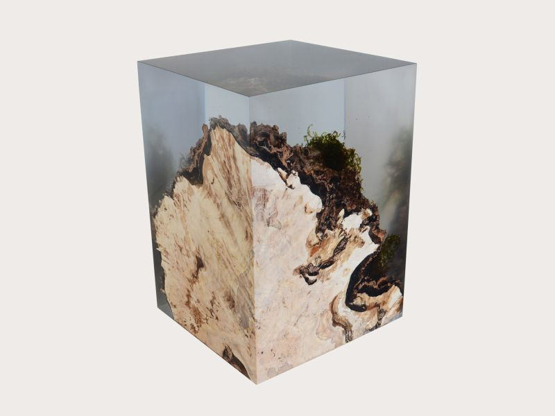 Stump Side Table Design