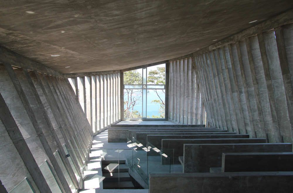 Sunset Chapel Architecture Interior