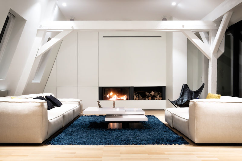 Old Attic Becomes A Part Of A Contemporary Duplex Apartment