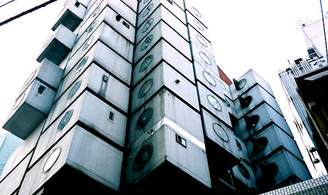 The Nagakin Capsule Tower Building
