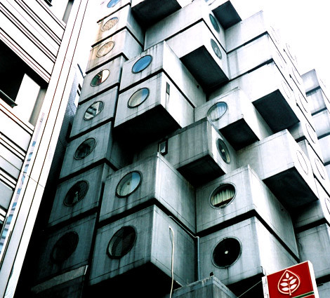 The Nagakin Capsule Tower Design