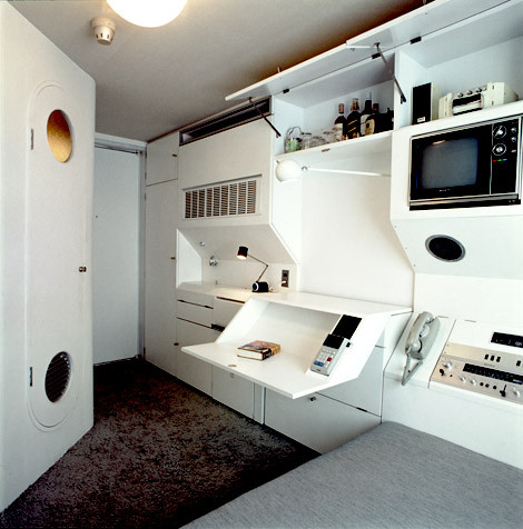 The Nagakin Capsule Tower Interior