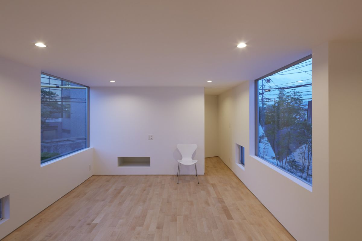 The OJI House interior