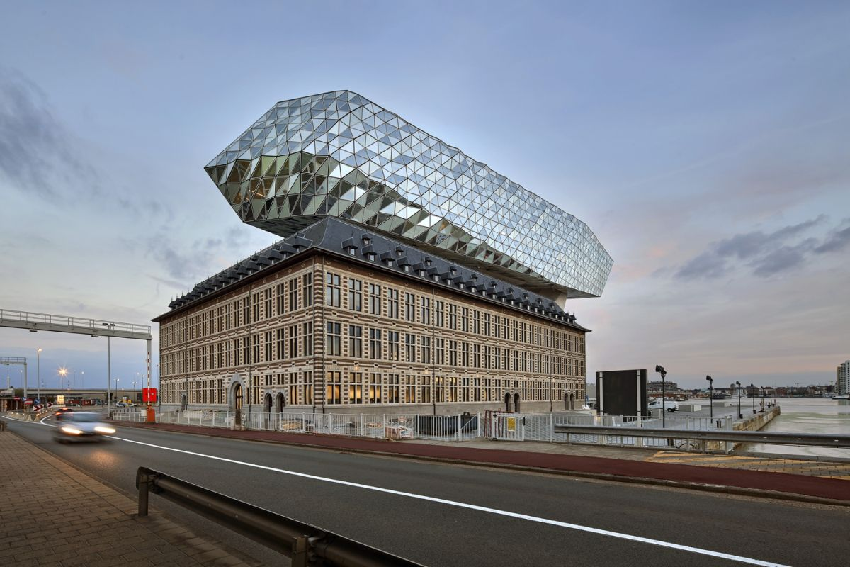 The Port House in Antwerp by Zaha Hadid