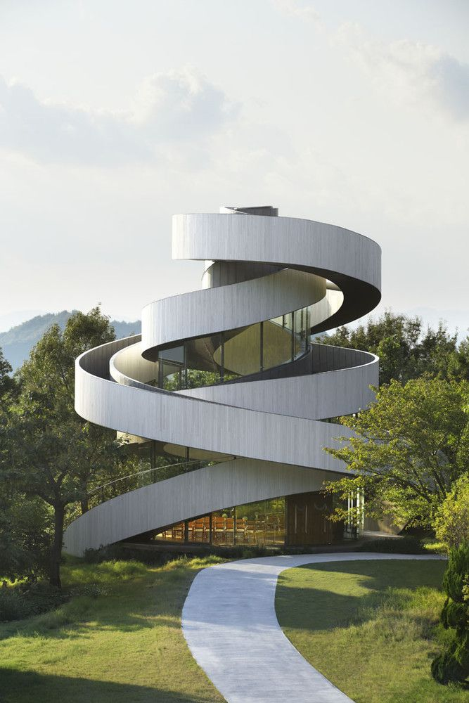 The Ribbon Chapel Design