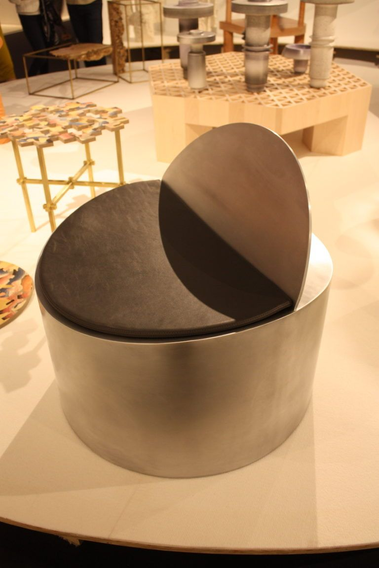 The Rolled Chair is an intriguing modern piece.