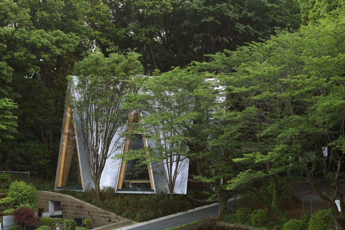 The Sayama Forest Chapel Architecture