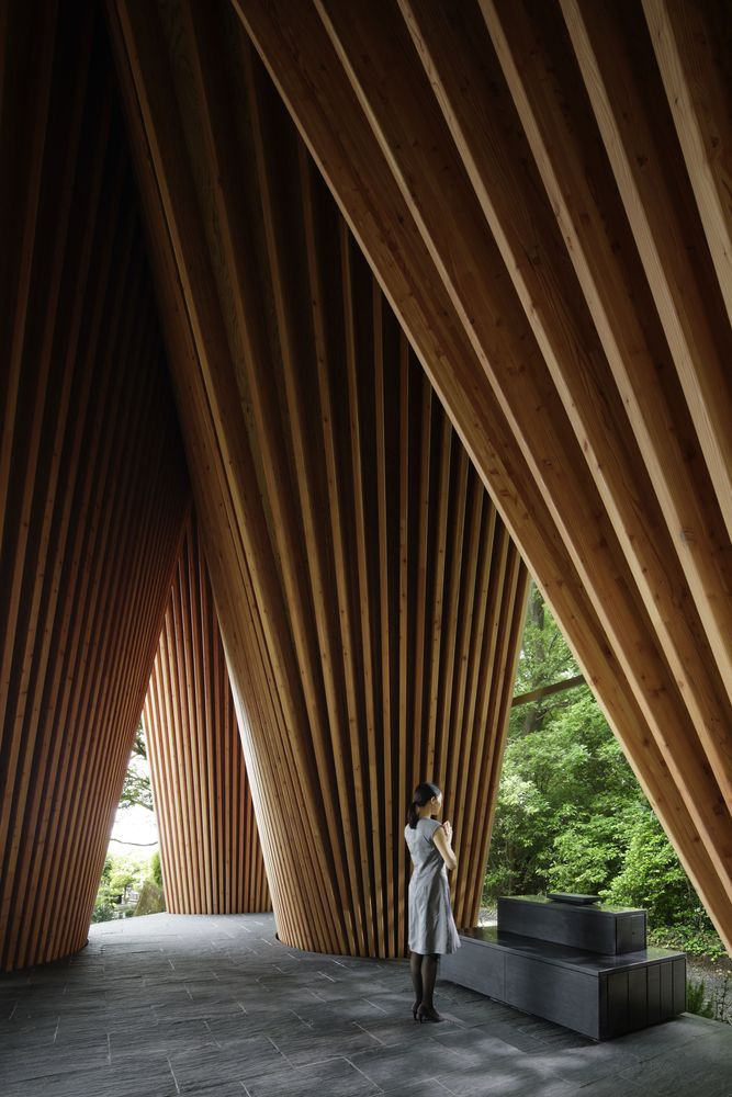 The Sayama Forest Chapel Interior