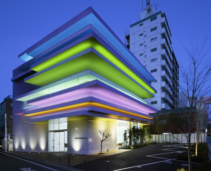 The Shimura Branch of the Sugamo Shinkin Bank Building