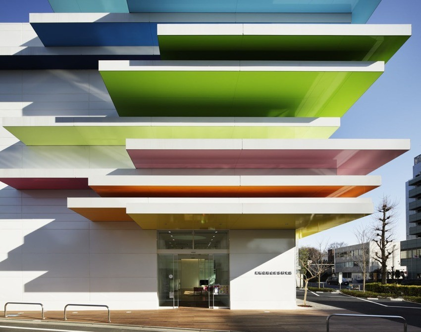 The Shimura Branch of the Sugamo Shinkin Bank Design