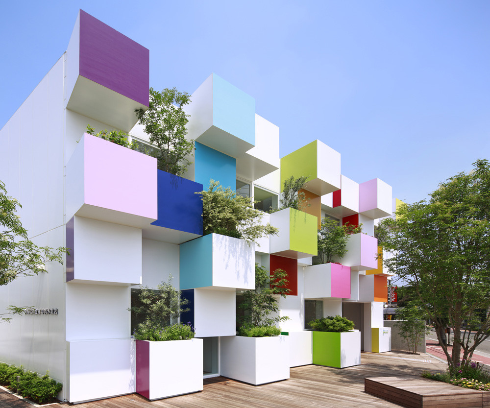 The Sugamo Shinkin Bank Exterior