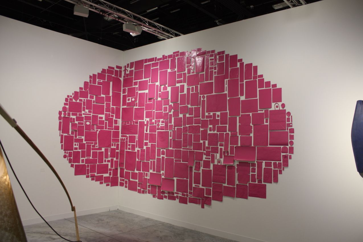 Thomas Dan Gallery Wall Piece Pink